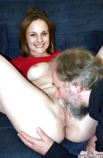 Пахабный дед устроил инцест, отлизав и отъебав пизду внучки.