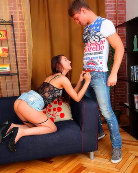 Страстная пизда хочет куни и долгого секса в киску с оргазмом